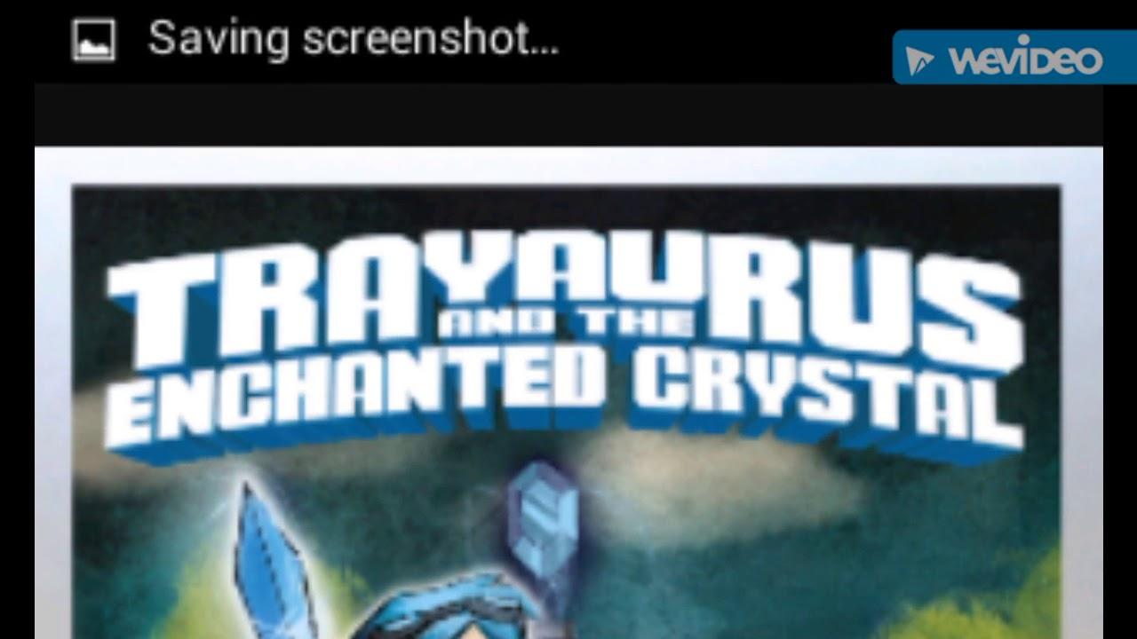 Trayaurus and the enchanted crystal #1