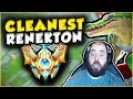 BACK ON THE RENEKTON CHALLENGER GRIND THE CLEANEST RENEKTON TOP GAMEPLAY League of Legends