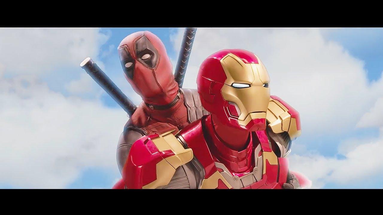 Avengers Infinity War Deadpool Fantastic Four Crossover ...