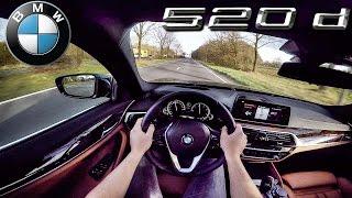 BMW 5 Series G30 520d POV Test Drive by AutoTopNL