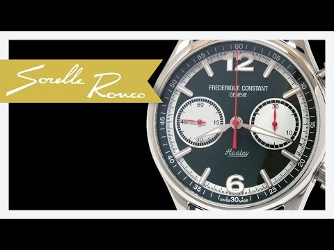 FREDERIQUE CONSTANT Vintage Rally Healey Limited Edition 42mm