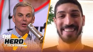 Enes Kanter discusses Lakers, his time with OKC and getting stuck in an elevator | NBA | THE HERD