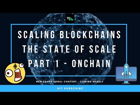 Blockchain Scaling Solutions - On Chain (Part 1)