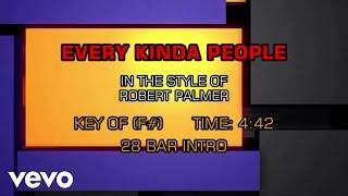 Robert Palmer - Every Kinda People (Karaoke)