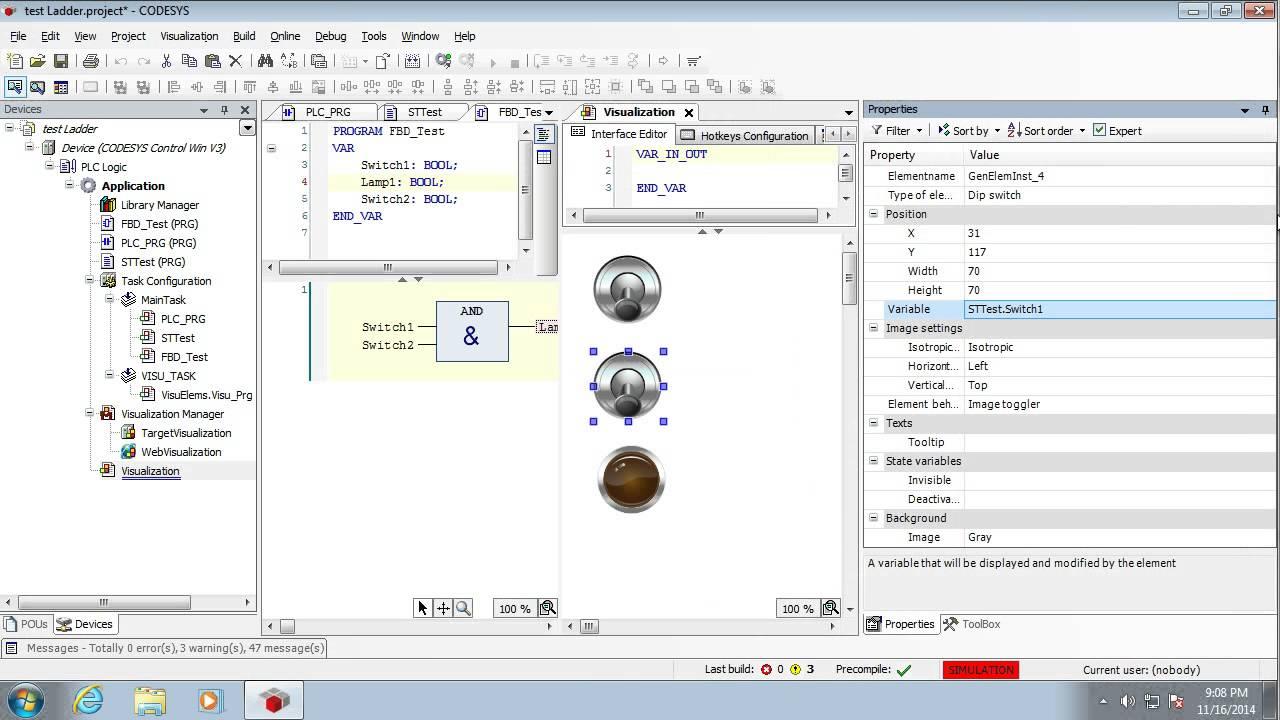 Codesys 03 Function Block Diagram Youtube Program