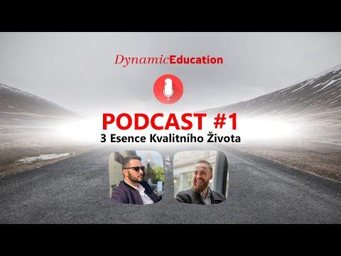 DE PODCAST #1   3 Esence Kvalitního Života from YouTube · Duration:  59 minutes 56 seconds