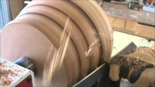 Turning A Segmented Bowl Part 2 8-29-11.wmv