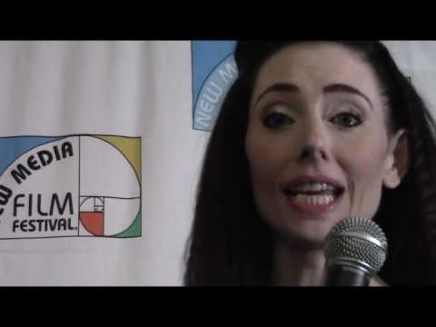 Star Wars and Star Trek Actress Adrienne Wilkinson on Red Carpet at New Media Film Festival