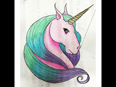 Como Dibujar Un Lindo Unicornio Kawaii Youtube