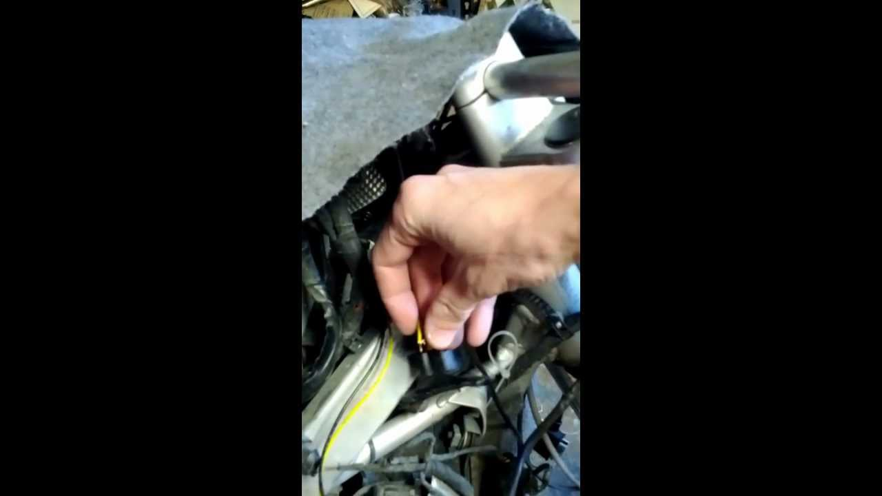 Hot Wiring A Motorcycle Youtube 04 Zx10 Diagram