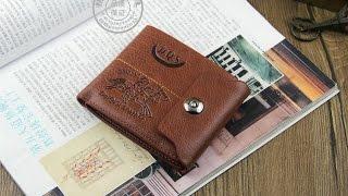 Кожаный мужской портмоне с aliexpress.com(Ссылка на продавца:http://ali.ski/M4EETW., 2014-07-25T19:26:54.000Z)