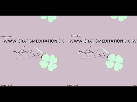 Guidet meditation dansk afslapning