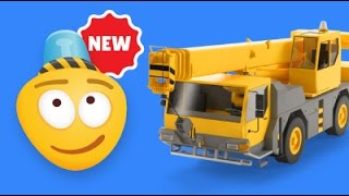Cranes for Children   Construction Game   Educational Videos for Kids