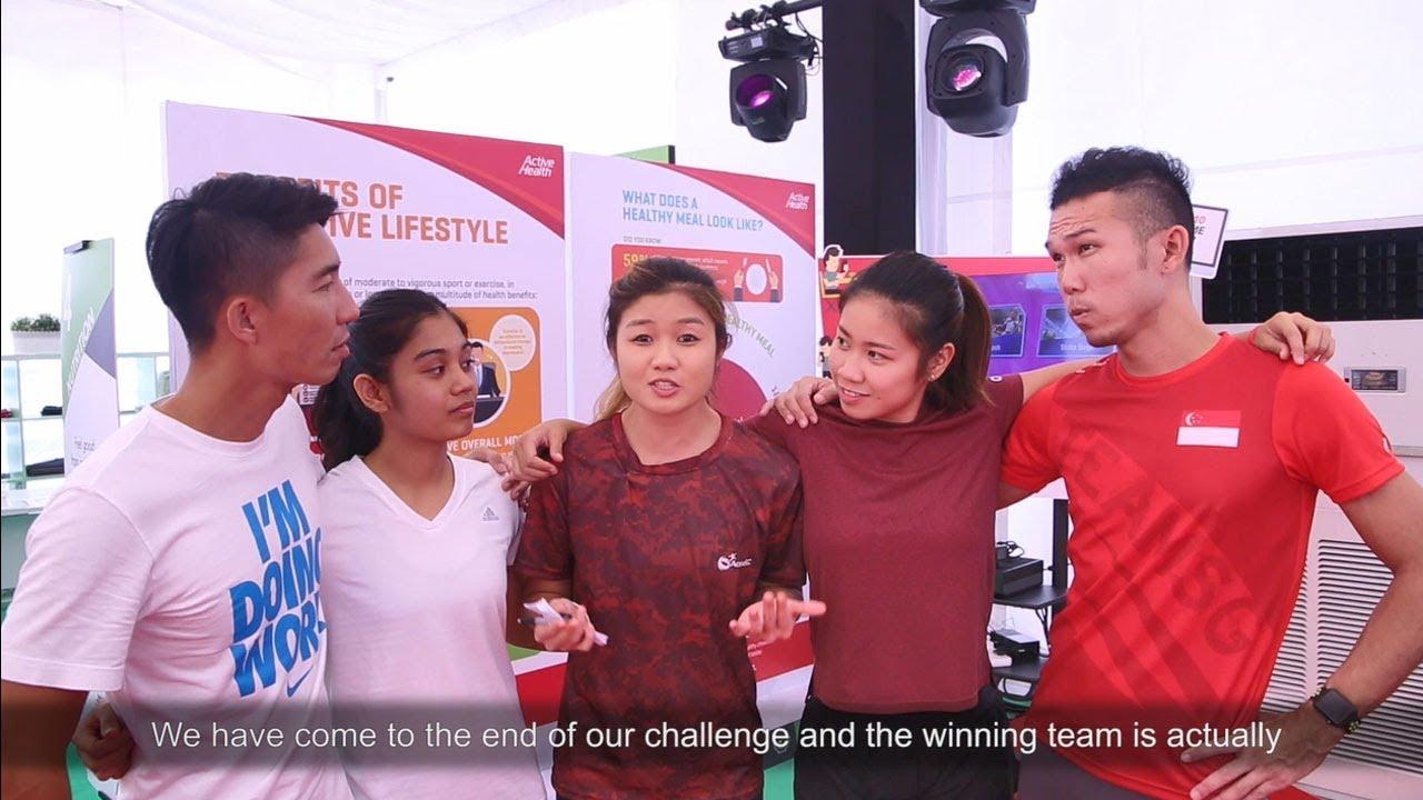 GetActive! Singapore Amazing Race 2017