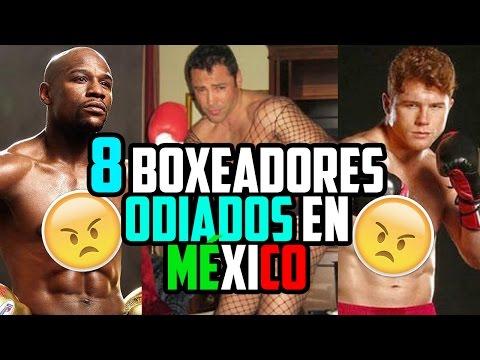 LOS BOXEADORES MAS ODIADOS EN MÉXICO