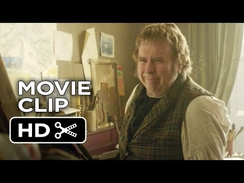 Mr. Turner Movie CLIP - Exceedingly Preoccupied (2014) - Mike Leigh Biopic HD
