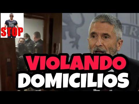 EL IMPACTANTE VIDEO CENSURADO DE LA ENTRADA POLICIAL TIRANDO LA PUERTA (completo).