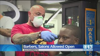Barbers, Salons Allowed To Reopen In Some Counties