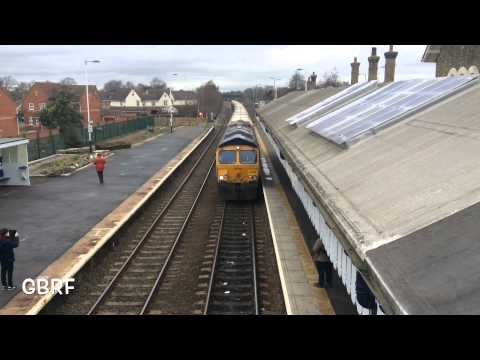 ECML division through Spalding Station. Saturday 28th February 2015.