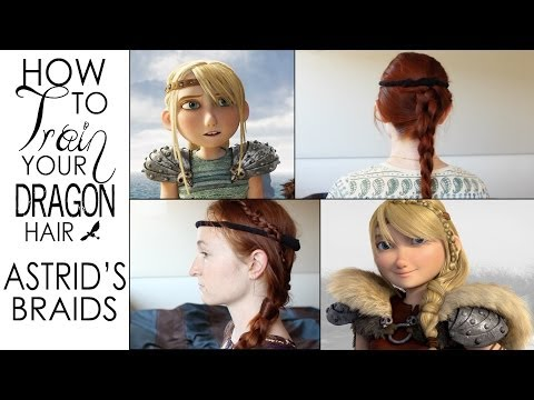 How To Train Your Dragon Hair Tutorial