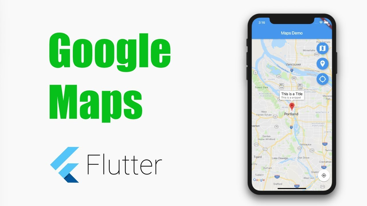 Flutter Tutorial – Google Maps in Flutter – MOBILE PROGRAMMING