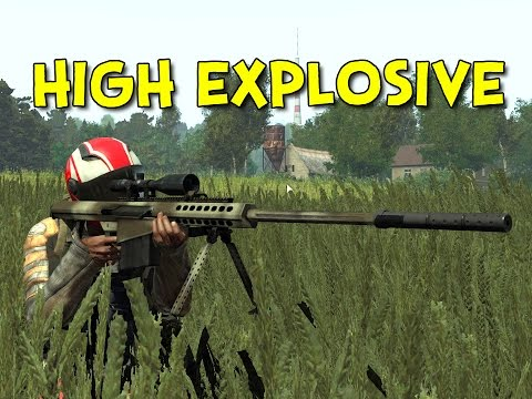 HIGH EXPLOSIVE! - Arma 3: DayZ Overpoch - Ep.2