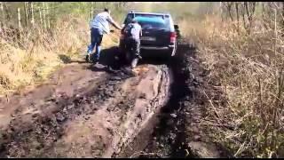 jeep grand cherokee wk езда по грязи в полубарском
