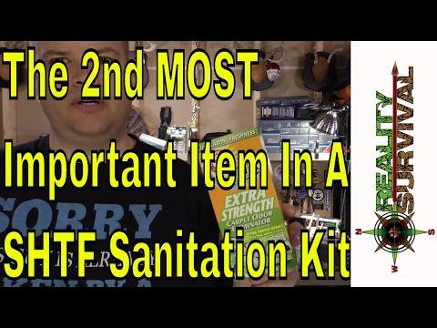 2nd Most Important Part Of A SHTF Sanitation Kit