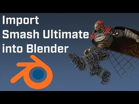 Smash Ultimate Model Importing Guide for Blender