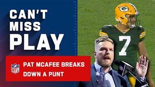 Punters Are People Too Pat McAfee Breaks Down Punt