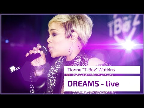 "T-Boz Performs ""Dreams"" for the first time LIVE"