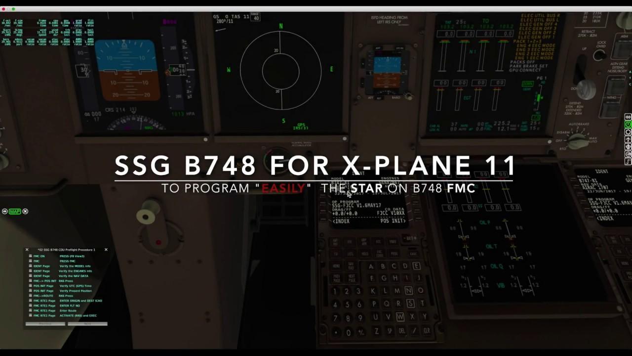 X-Plane 11, programming