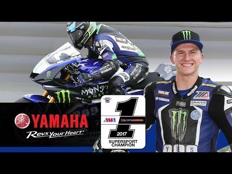 Garrett Gerloff | 2017 Yamaha Wall of Champions Inductee