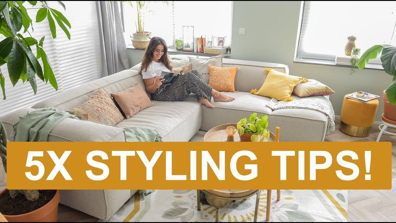 Woonkamer Ideeen Inrichting.Woonkamer Gezellig Inrichten 5 Styling Tips Binti Home Youtube