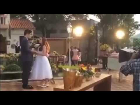 55d7a0d9d3a52 Primeiro beijo Manuela e Joaquim - Beijo MaJo - YouTube