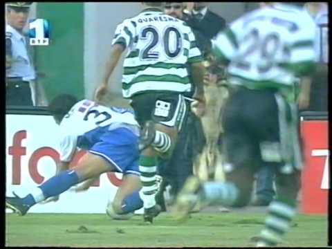 01J :: Sporting - 1 x Porto - 0 de 2001/2002