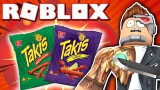 SPICY CHIPS HERAUSFORDERUNG!! (Roblox Murder Mystery 2) #TakisChallenge