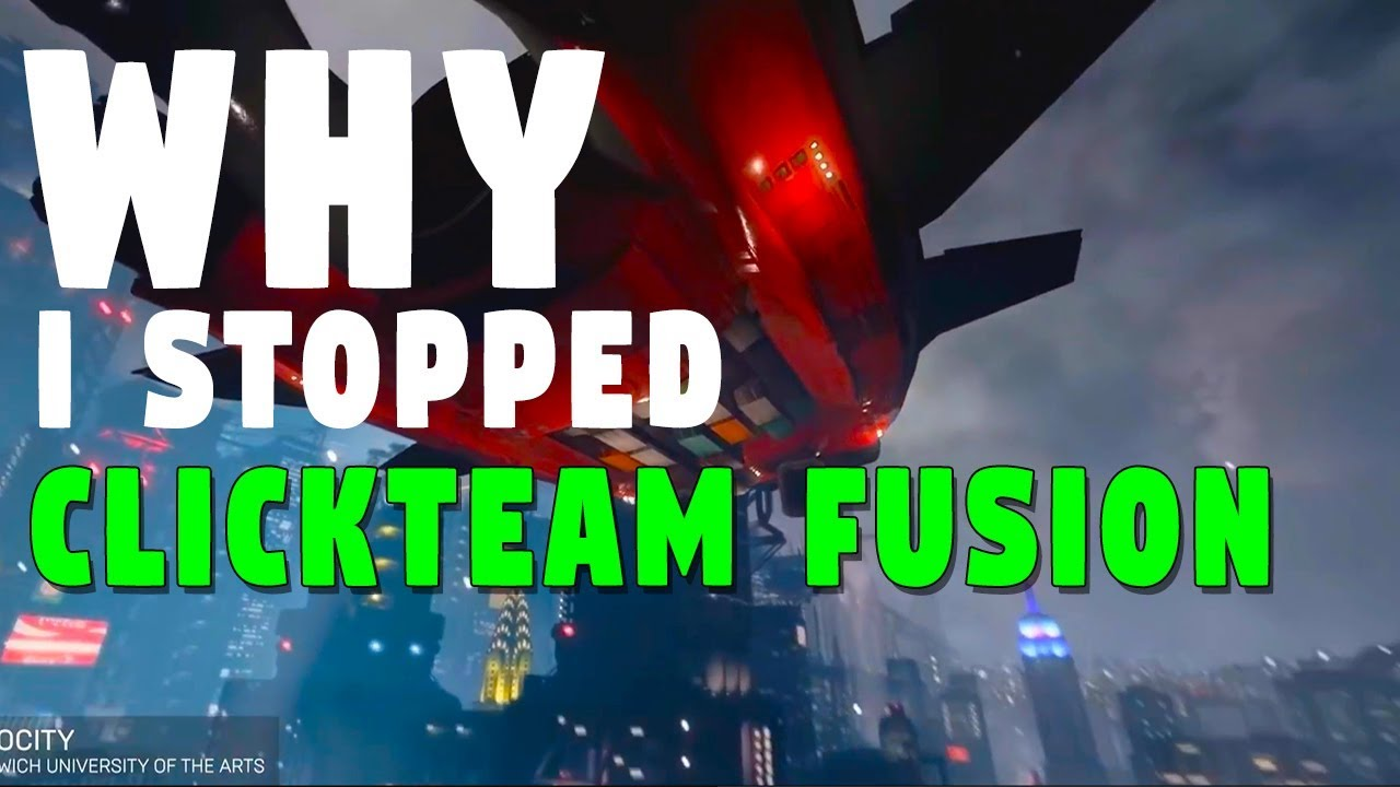 WHY I STOPPED USING CLICKTEAM FUSION (Expert Opinion from a Real Game  Developer)