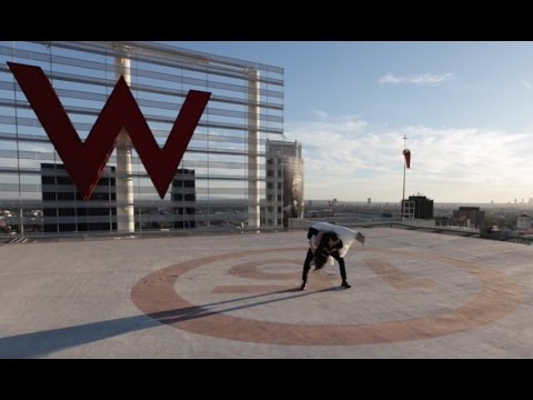 Amazing and Epic Wedding First Dance on Helipad Rooftop at the W Hotel in Hollywood