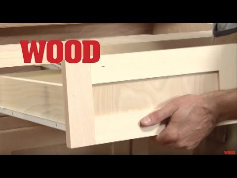 How To Install Cabinet Drawers - WOOD magazine