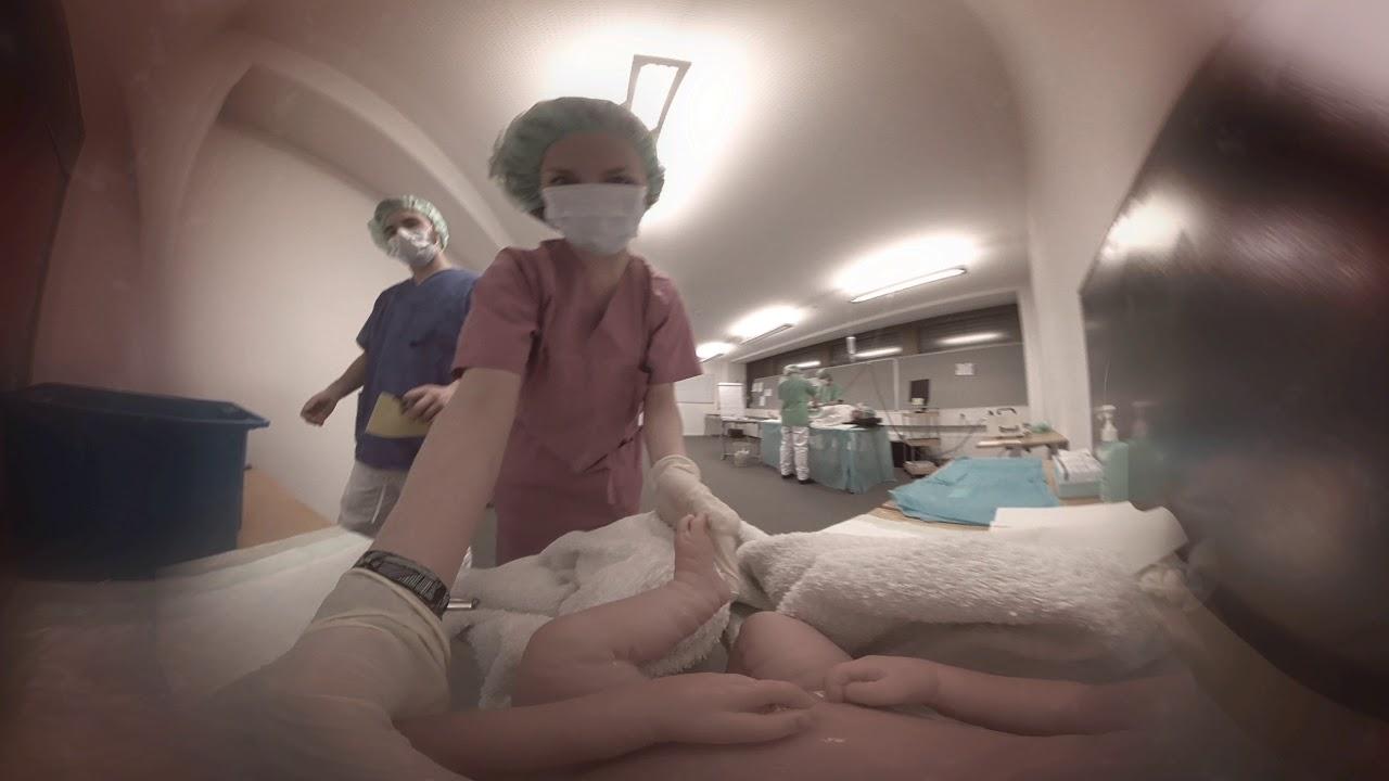 Birth in VR 360 Video (Baby POV) - YouTube