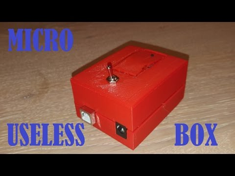 Useless Box Bausatz : arduino micro moody useless box youtube ~ Watch28wear.com Haus und Dekorationen