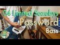【歌詞付き】04 Limited Sazabys - Password ベース弾いてみた!