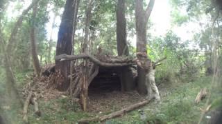 Debris Survival Shelter   - Day 1