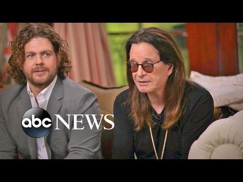 Ozzy Osbourne & Jack Osbourne Interview