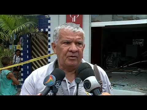 Explosão de banco em Feira Nova [Balanço Geral –  05.09.17]