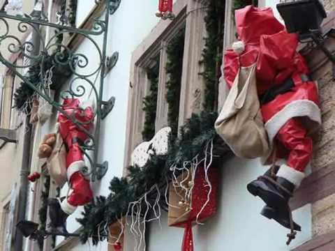 Decorazioni di natale in alsazia youtube for Youtube decorazioni natalizie
