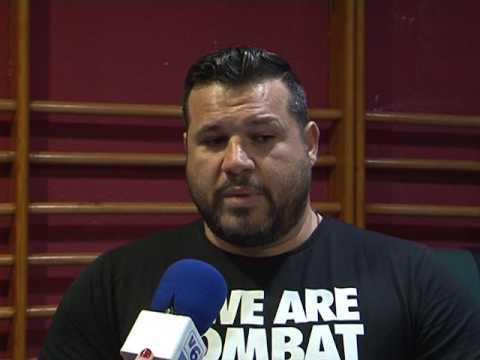 Juan Salmerón, campeón de España profesinal de MuayThai