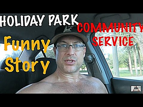 WALKING THE PARK TRAIL AT HOLIDAY PARK FORT LAUDERDALE FLORIDA / FUNNY BASEBALL STORY / MR. EVERT