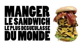 Quentin - Défi n°13 - Le sandwich dégueulasse